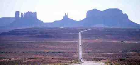 Autostrada in desert